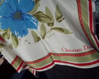 Flower Christian Dior Scarf