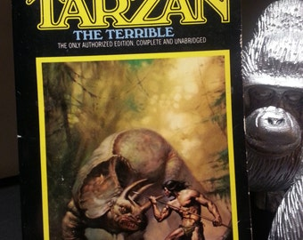 Tarzan the Terrible #8 - Edgar Rice Burroughs -1983