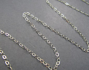Sterling silver chain finished .925