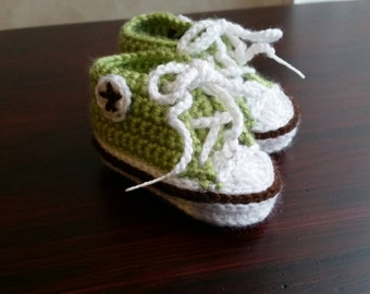 Baby Crochet Converse Newborn Sneakers Baby Booties