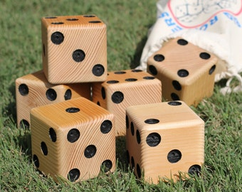 Big Rollers Lawn Dice