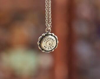 Choice 40 Sw Bullet Necklaces-Winchester40 Necklace-Federal 40 SW-Remington 40 Sw-Hornady 40 Sw Necklace-Blazer 40 Sw Necklace-Swarovski