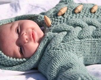 Baby Bunting- KNITTING pattern
