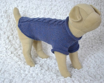 Knit sweater,hand-knitted short-sleeved sweater for dogs or cats, handmade clothes for pets, cat and dog clothes