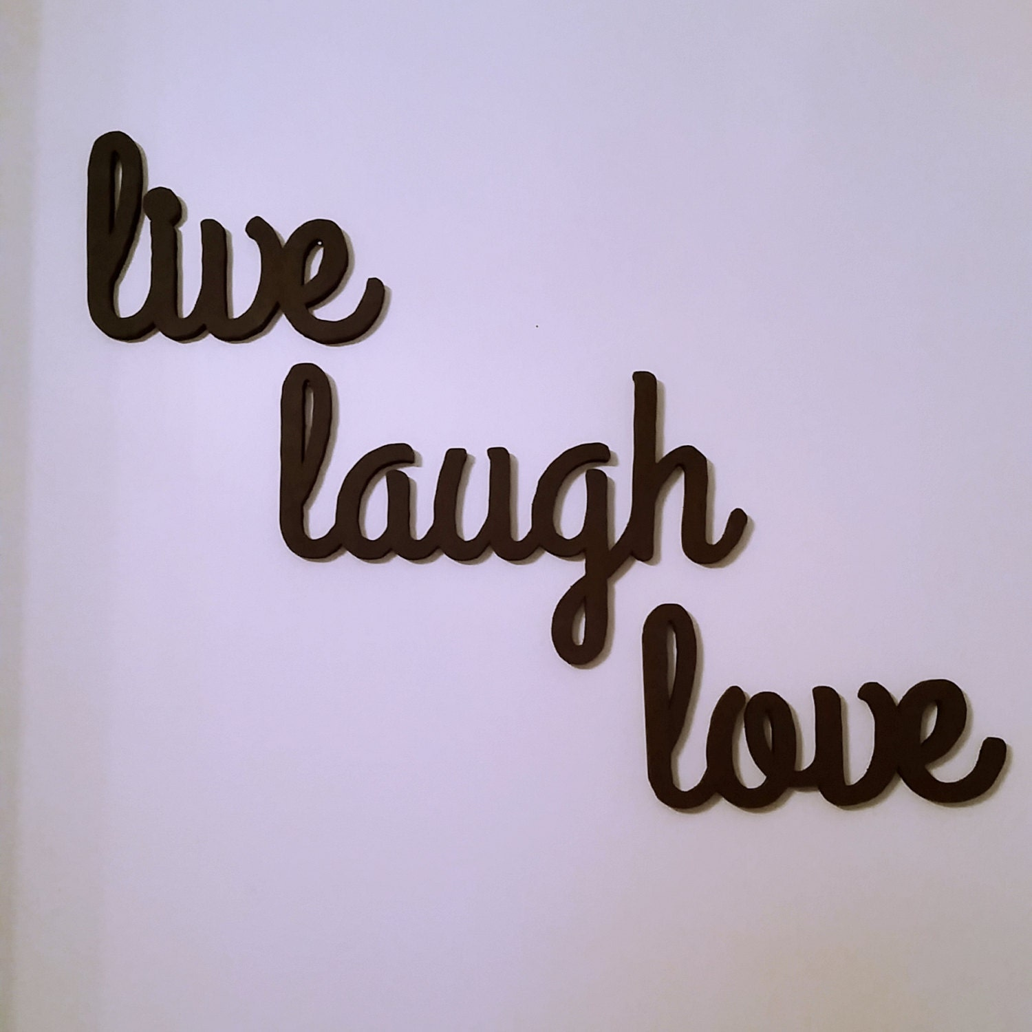 Live laugh love decor for Live laugh love wall art
