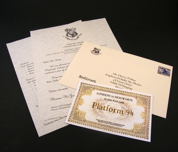 Custom harry potter acceptance letter with by dynamicalley for Harry potter personalized letter