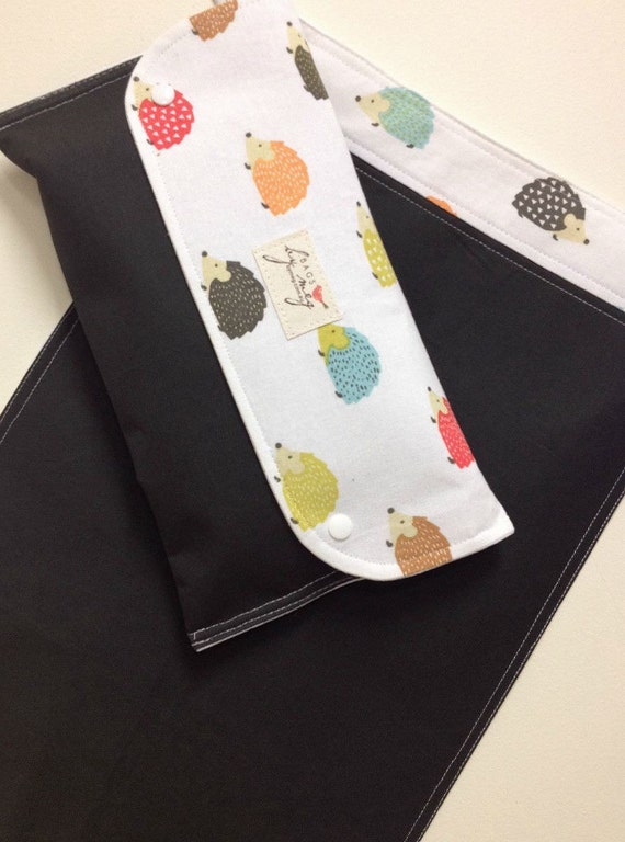 Diaper clutch wallet : Nappy wallet diaper clutch with travel change mat pad