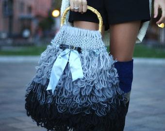 Large Grey Handbag
