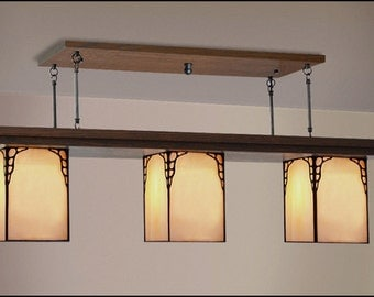 Bungalow Dining - Kitchen, Island Light Fixture