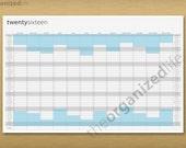 2016 Wall Calendar - Printable PDF