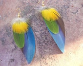 CUSTOM FEATHER EARRINGS