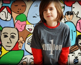 One In A Million kids tshirt