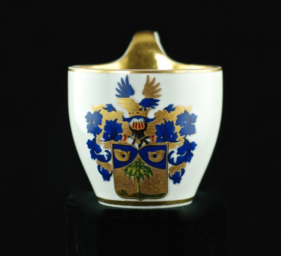 antique berlin kpm porcelain armorial cabinet cup. Black Bedroom Furniture Sets. Home Design Ideas