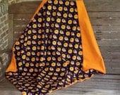 Halloween Owls Baby Blanket