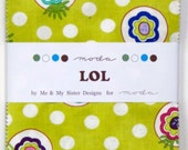 LOL Charm Pack by Me & My Sister Designs from Moda - 42 Five Inch Squares