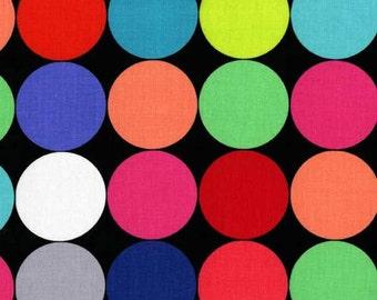 Tangram - Bright Disco Dot by Mark Hordyszynski from Michael Miller