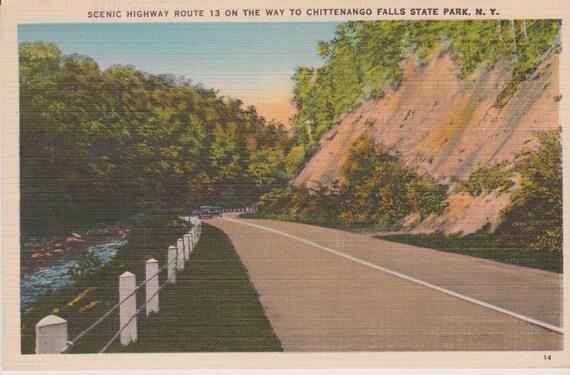 Chittenango Falls State Park New York Scenic Highway