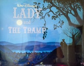 Walt Disney's Lady and The Tramp 4 Lithograph Set Unopened