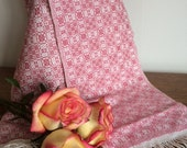 Bower of Roses Overshot Woven Scarf - Weaving Draft (Pattern)
