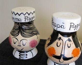 Raymor Mid Century Ceramic Shakers Vintage Art Pottery