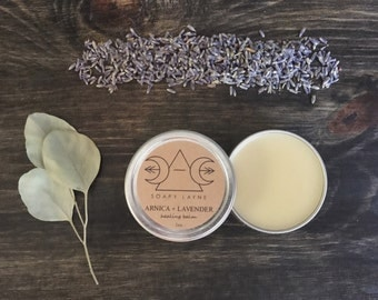 ARNICA + LAVENDER, herbal balm, 2oz. vegan balm