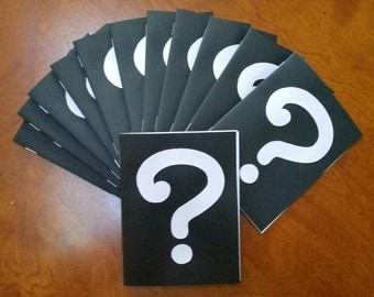 Lot of 12 Mystery / Whodunit  Notebook's -  Party Favors