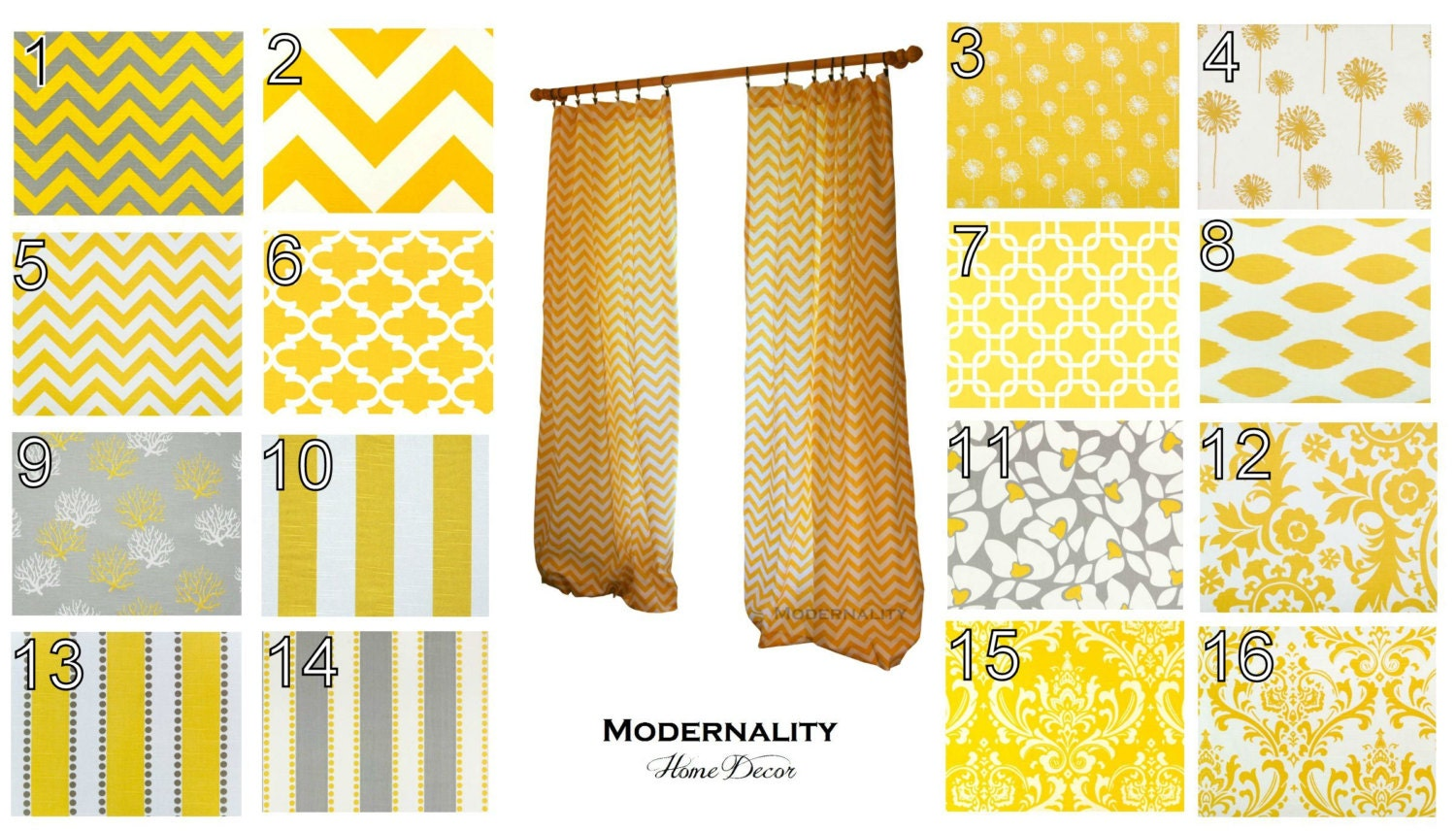 modern curtains pair of drapery panels by modernalityhomedecor