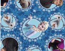 Sale Disney Frozen Fleece fabric From Springs fabrics