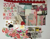 Scrapbook Embellishment Kit - Valentine's  Day Love #1