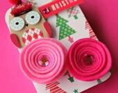 Christmas Gift Card Holder, Keepsake Mini Altered Tin/ Peppermint Hoots