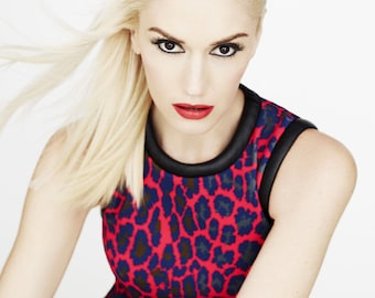 Clothing, Women's Clothing, Tops and Tees, Gwen Stefani T-Shirt, Gwen Stefani Tee, Fashion Art Tees
