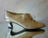 Witchy Weekend Silver Gold Heels size 9 size 40