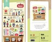 Vintage Shop - Sonia Stickers - PVC 3D Deco Sticker - 1 Sheet