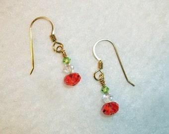 Swarovski Trio earrings