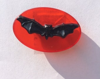 Halloween Bat Brooch