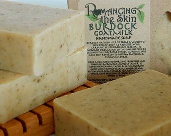 Burdock Goat Milk & Cedar Handcrafted Lye Soap