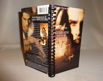 Interview with the Vampire VHS Notebook