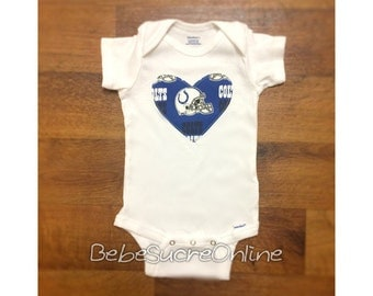 Indianapolis Colts Girls Bodysuit or Toddler Shirt