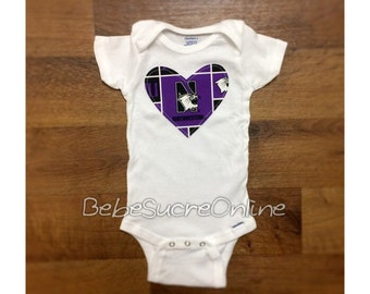Northwestern University Girls Bodysuit
