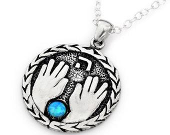PRIEST BLESSING. spiritual pendant
