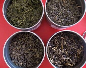 Super Green Tea Sampler Best green tea special.
