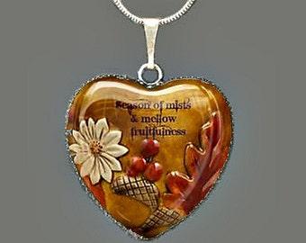 Autumn Glass Pendant