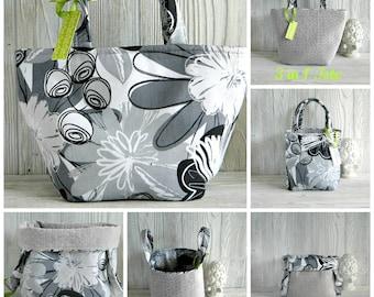 Diaper Bag/ Tote Bag Multi Purpose /Bags & Purses /Tote Bag / 3 in 1 Hand Bag /   / Dorm Room/ Cosmetic Storage / Home and Living /  Basket