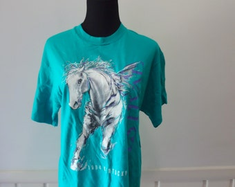 Vintage Kentucky Derby Graphic T-shirt size Medium 1994