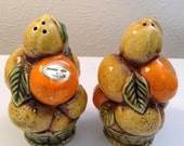 Vintage Collectable Inarco Orange spice salt and pepper shakers Japan collectibles.We do accept reasonable offers.