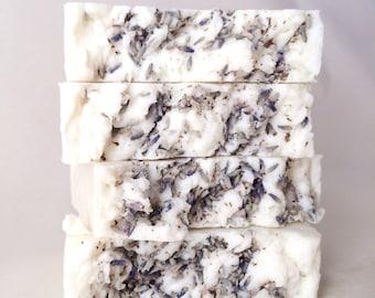 Natural LavenderHandmade Soap, Olive Oil Castile Soap, All Natural Handmade Vegan Soap