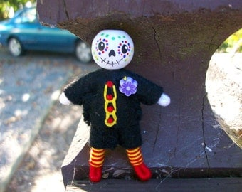 Day of the dead boy