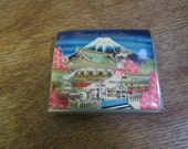"Vintage 1950's Military souvenir Cigarette Case ""In Memory of Japan & Korea"""
