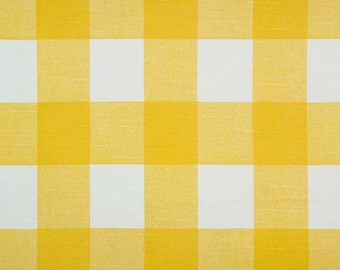 Yellow Buffalo Check Pillow Cover-Throw Pillow-Decorative Pillow-Cushio-Corn Yellow and White Checkered Plaid Buffalo Check Pillow