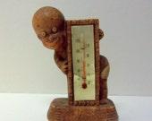 Black Americana Diaper Dan Thermometer